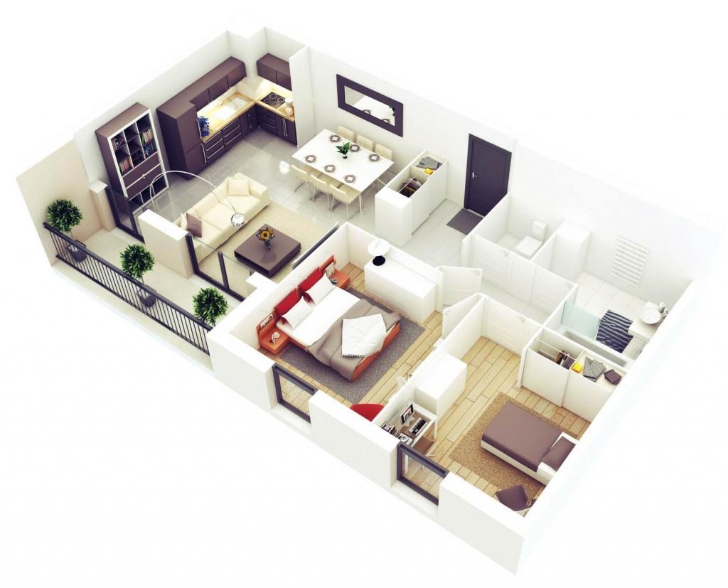 Перепланировка квартиры в новостройке 74